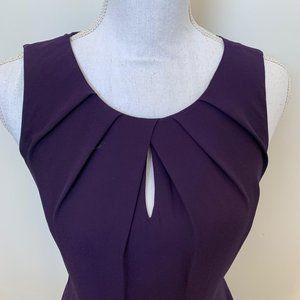 Express SZ 4 women's dress key hole neck sleeveles